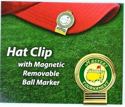 2017 Masters HAT CLIP with MAGNETIC BALL MARKER from Augusta National GC NEW