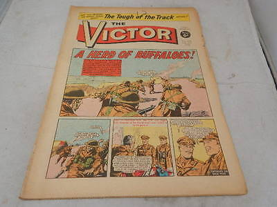 THE VICTOR COMIC No 470 ~ Feb 21st 1970 ~ A Herd Of Buffaloes
