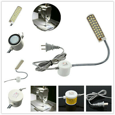 New Sewing Machine 30 LED 110-220V Magnetic Base Flexible Mounting Light Lamp