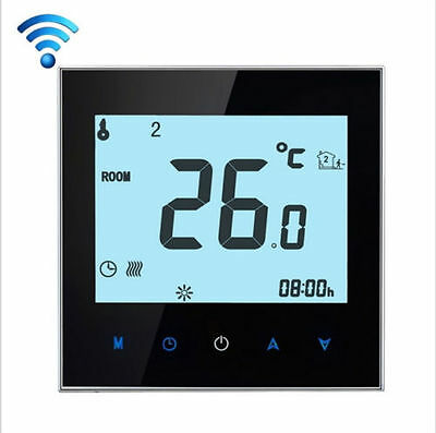 Smart WiFi Thermostat for Electric Underfloor Heating, Touchscreen, Programmable