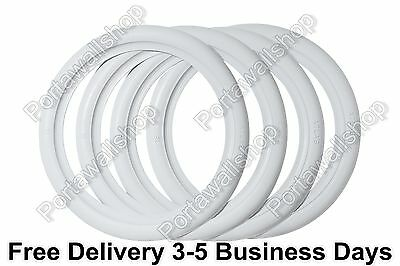 "ATLAS Portawalls 15"" Add-On Wide White Wall Tire İnsert Trim Set of 4."
