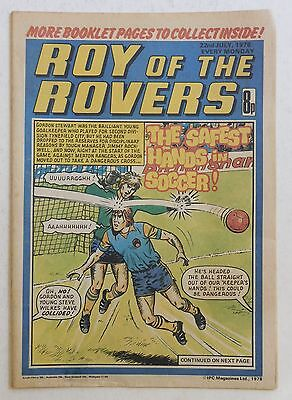 ROY OF THE ROVERS Comic - 22nd July 1978