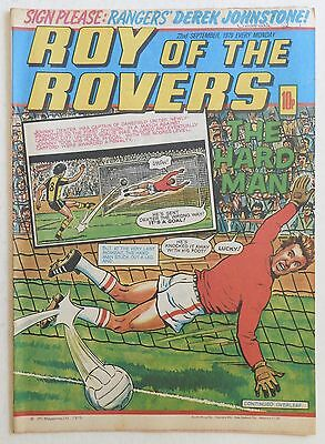 ROY OF THE ROVERS Comic - 22nd September 1979
