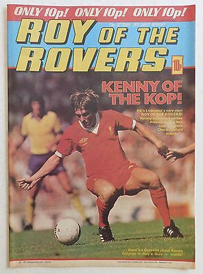 ROY OF THE ROVERS Comic - 13th October 1979