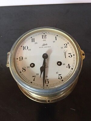 GERMANY SCHATZ ROYAL MARINER CLOCK 8 Day No Key Untested