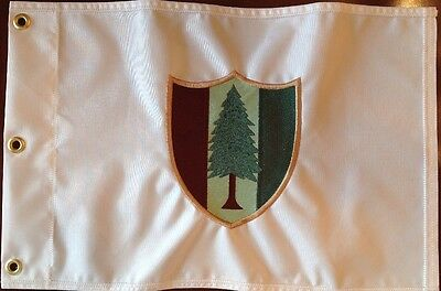 PVGC Pine Valley Golf Club Course Embroidered Golf Pin Flag Palmer Nicklaus