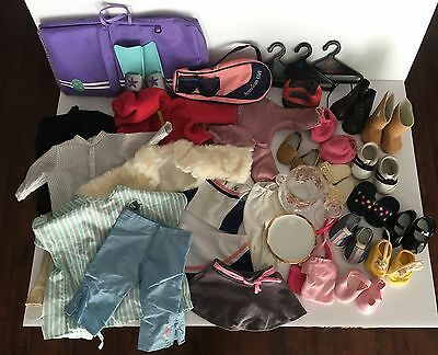 American Girl 18in Doll Clothing Outfits, Shoes and Accessory Lot ~ Great Items!