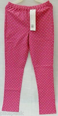 Girls Pants American Girl Polka Dot Leggings wholesale lot of 12 = Sm, Med & Lg