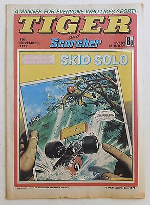 TIGER & SCORCHER Comic - 19th November 1977