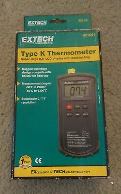 Extech 421501 Dual Input K Thermometer
