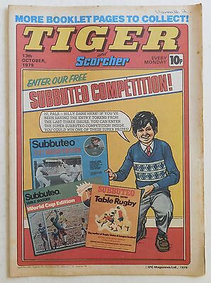 TIGER & SCORCHER Comic - 13th October 1979