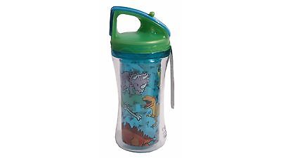 Cool Gear Sparrow Dinosaurs Drink Bottle with Double Wall Construction