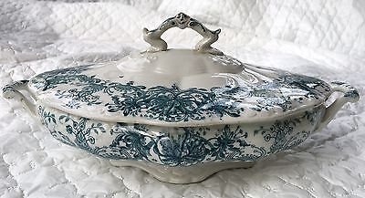 Antique (1902-1926) Dudson, Wilcox & Till England Lidded Vegetable Dish 631