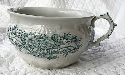 Antique (1902-1926) Dudson, Wilcox & Till England Handled Chamber Pot  635