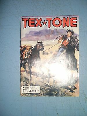 Tex Tone issue 461 French western comic