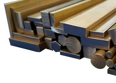 Cheap Brass Round Square Flat Bar, Rod/Bar, L-Angle & Tube 100mm to 600mm long