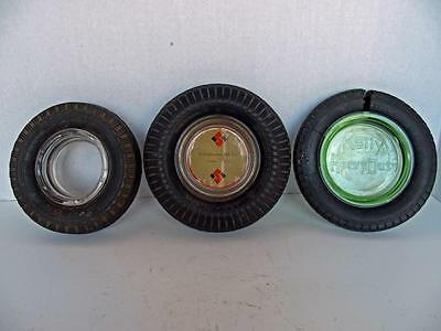 Vintage Independent Oil Co.(Lemmon, SD), Kelly Springfield & Goodyear Ashtrays