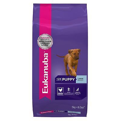 Eukanuba Puppy Large Breed 15KG Chicken Dry Canine Dog Food