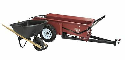 AG-BITS -Compact Manure Spreader Powder Coated Ground Drive Made in USA Model 27