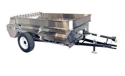 AG-BITS Large Manure Spreader Stainless Steel PTO Drive Made in USA  Model 127