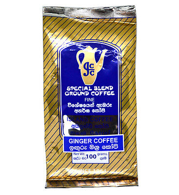 Special Blend FINE Ground Coffee Ginger Flavour Small 100g Pack Ginger Coffee