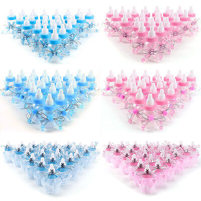 24 Unisex Baby Bottles For Baby Showers Inc Sweet For Games Prizes Boy Or Girl