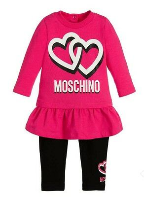 Moschino baby girls outfit..set..leggings..dress
