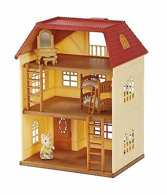 Beautiful Sylvanian Families Cedar Terrace House Gift Set Intelligence Toys New