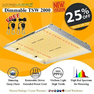 Mars Hydro 300W LED Grow Light Full Spectrum Hydroponic System Indoor Plant Grow