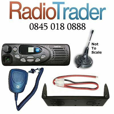 1 X Tait Tm8110 Vhf Data Taxi Mobile Two Way Radio And Magnetic Magmount Antenna