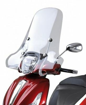 Parabrezza Con Staffe  Windscreen Wit Stirrups Piaggio Beverly 300 350 Rst