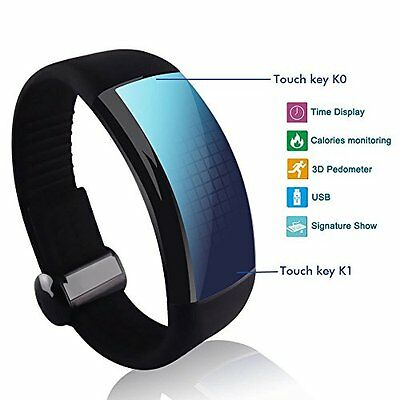 3D LED Pedometer & Calorie Monitor Smart Watch