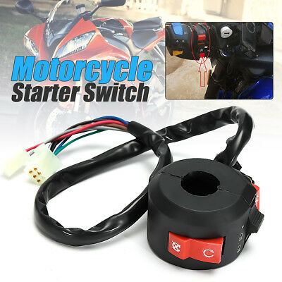 Kill Light Starter Choke Switch Black For Motorcycle ATV QUAD 90cc 110cc 125cc