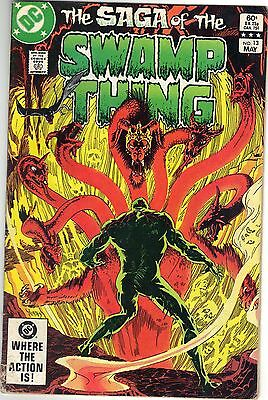SWAMP THING #13 May 1983 DC Comics Price Includes Delivery in UK