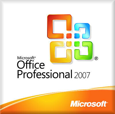 Microsoft office 2007 professional for windows with key