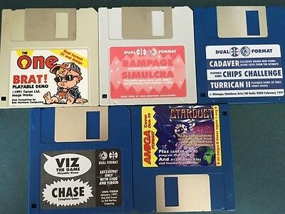 Commodore Amiga software disks various games and utilities #20