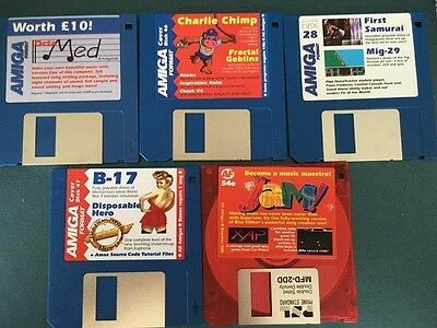 Commodore Amiga software disks various games and utilities #22