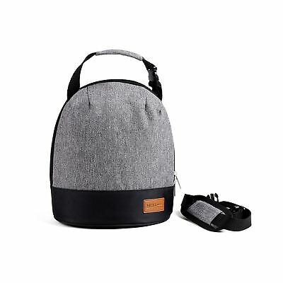 WELLuse 6-can capacity Insulated Lunch Bag- Freezer Safe Smooth Zipper... NO TAX