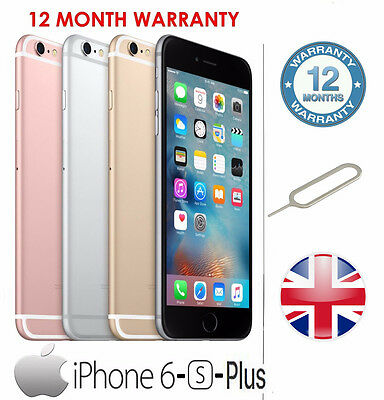 Apple iPhone 6- PLUS- 6S- 6S PLUS / 16GB 64GB 128GB - All Colours - Unlocked