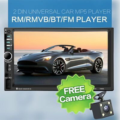 7060B 7 Inch Bluetooth Vehicle Auto Car MP5 Video Player In Touch Screen LOT HK