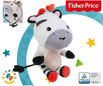 Fisher-Price - Peluche Doudou Zèbre