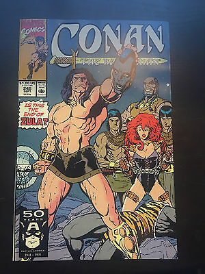 Conan the Barbarian (1970 Marvel) #248 VF Very Fine Marvel Comics