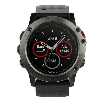 Garmin Fenix 5X Sapphire GPS Heart Rate Watch