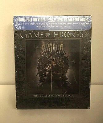 Game of Thrones: The Complete First Season 1 Blu-ray 5-Disc Set