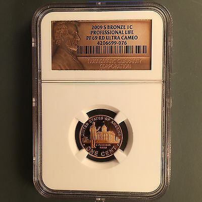 2009-S Professional(Proof) Lincoln Cent NGC PF69 ULT CAM [Auto Comb Ship](26318)