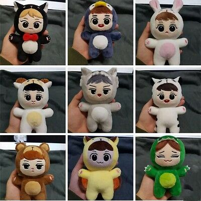 NEW KPOP EXO Animal Plush Soft Doll Toy Handmade KAI SEHUN CHEN BAEKHYUN DO LAY