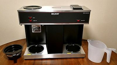 Bunn Vps 12-cup Pourover Commercial Coffee Brewer With 3 Warmers