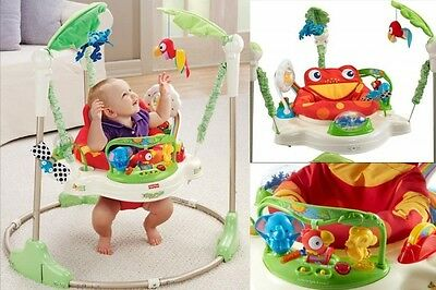 Baby Activity Jumper Walker Exersaucer Toy Interactive Seat Kids Learning Center