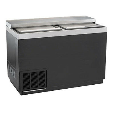 "Krowne Metal BC48-BG 48"" Flat Top Bottle Cooler"