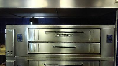 Bakers Baker's Pride Y800 Gas Pizza Oven